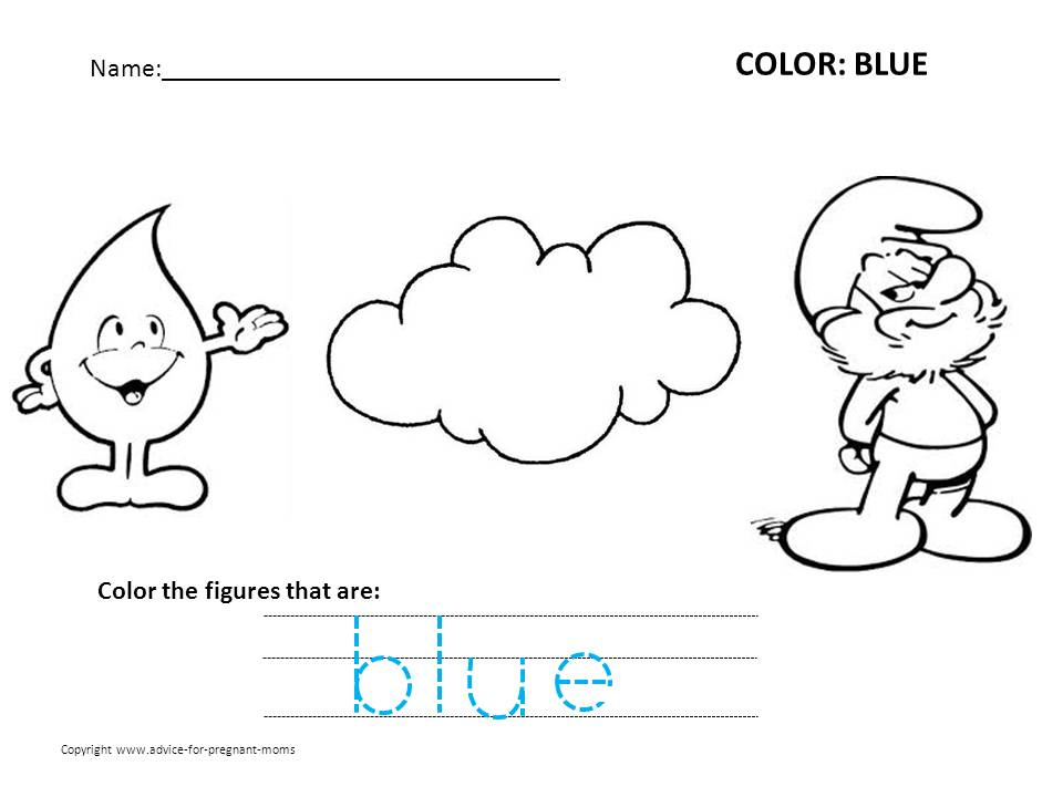 Free Preschool Worksheets For Learning Colors